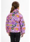 Демисезонная куртка  принт 152