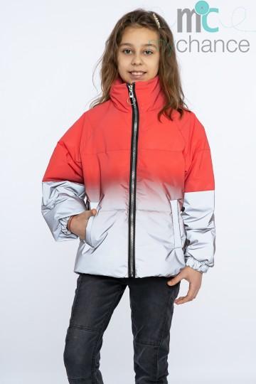 Демисезонная куртка  Радуга