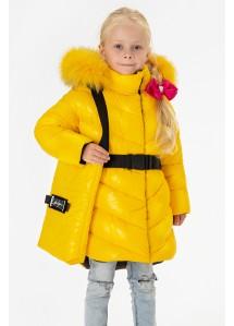 Зимнее пальто Ангелина малыш