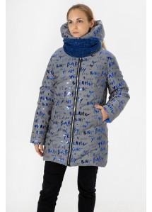 Зимнее пальто Цветик буквы