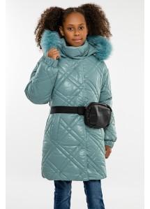 Зимнее пальто Алёна (ромб)