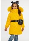 Зимнее пальто Алёна малыш (ромб)
