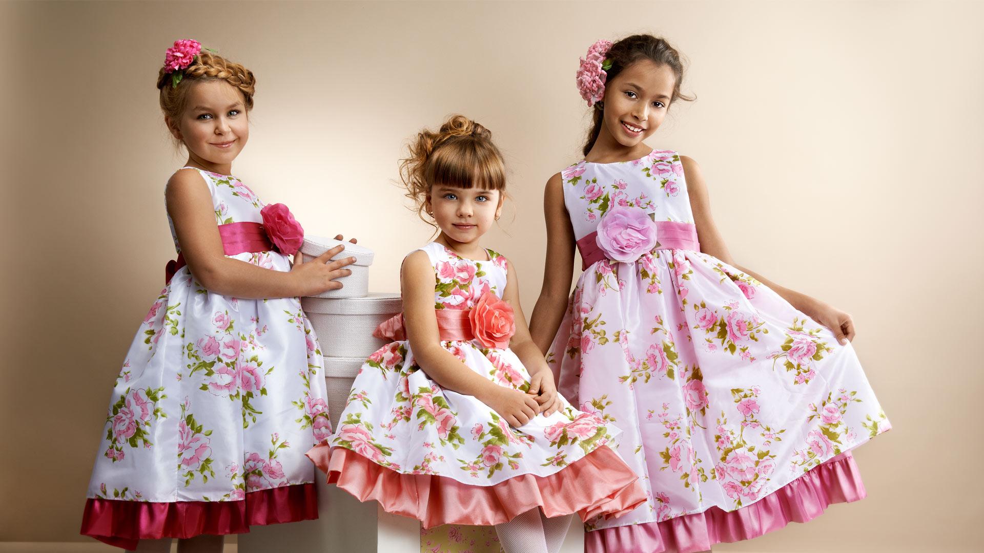 с для детей фото красивыми платьями
